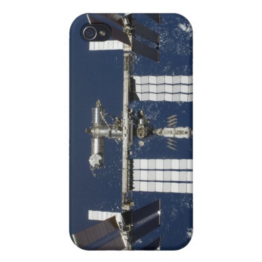 La estación espacial internacional 4 iPhone 4/4S fundas
