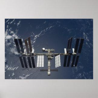 La estación espacial internacional 4 posters