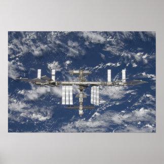La estación espacial internacional 5 poster