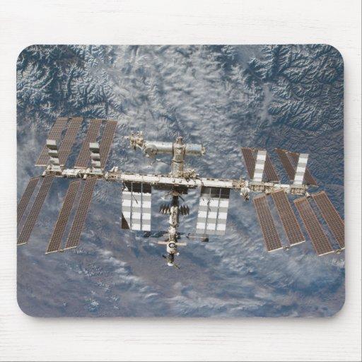 La estación espacial internacional 8 alfombrilla de raton