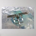 La estación espacial internacional impresiones