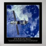 La estación espacial internacional poster