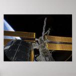 La estación espacial internacional póster