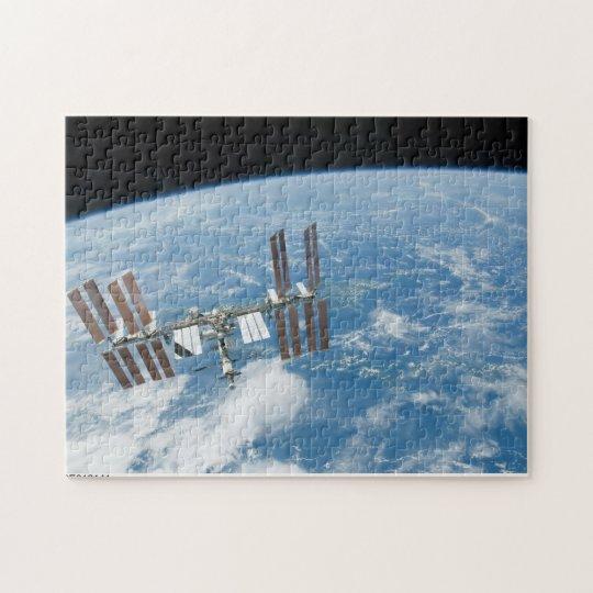 La estación espacial internacional puzzle
