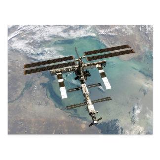 La estación espacial internacional postal