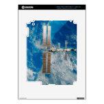 La estación espacial pegatina skin para iPad 3