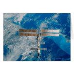 La estación espacial tarjetón