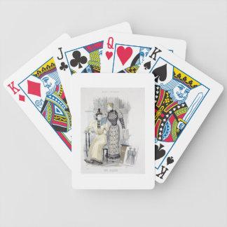 La estación placa de moda para la reina Septem Cartas De Juego
