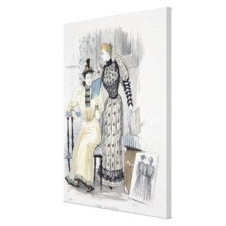 """La estación, placa de moda para """"la reina"""", Septem Impresión En Tela"""