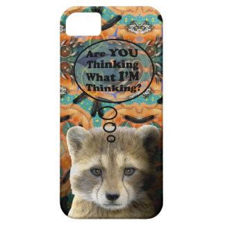 ¿La estafa es usted que piensa? Barely There iPhone 5 Case-Mate Cárcasas