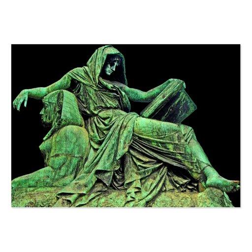 La estatua de Bismarck, Berlín, sibila, leyó, la Tarjetas De Visita Grandes