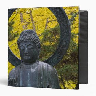 """La estatua de Budda en el japonés cultiva un huert Carpeta 1 1/2"""""""