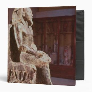 La estatua de Khafre enthroned