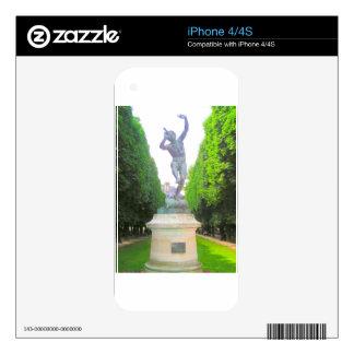 La estatua de la cacerola, Luxemburgo cultiva un Calcomanías Para iPhone 4S
