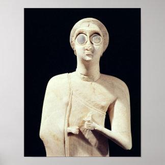 La estatua de la gran diosa, de dice Asmar Póster