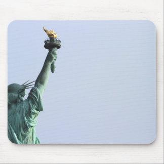 La estatua de la libertad alfombrilla de raton