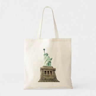 La estatua de la libertad bolsas