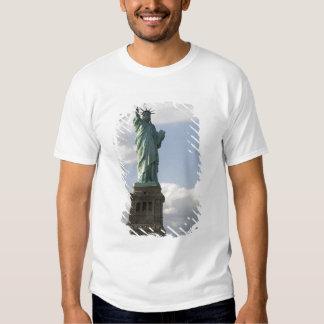 La estatua de la libertad en la isla de la playera