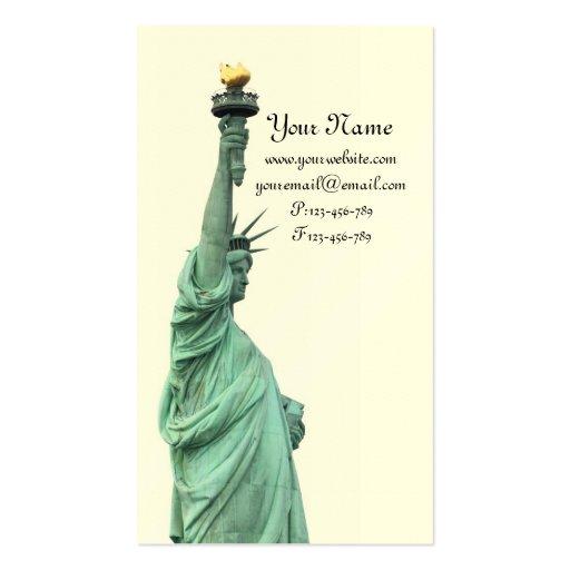 La estatua de la libertad, New York City Tarjeta De Visita