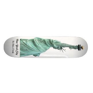 La estatua de la libertad patín personalizado