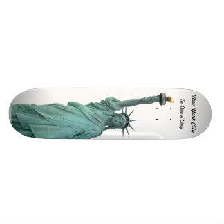 La estatua de la libertad tablas de patinar