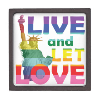 La estatua de la libertad viva dejó amor cajas de recuerdo de calidad