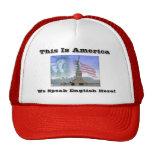 La Estatua-de-Libertad, ésta es América, nosotros  Gorras De Camionero
