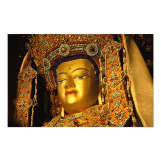 La estatua dorada de Jowo Buda, templo de Jokhang, Fotografía