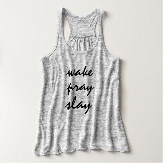 La estela ruega mata las camisetas sin mangas