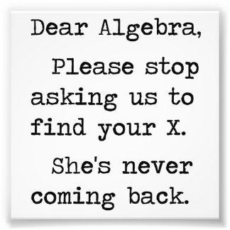 La estimada álgebra para por favor el pedir que de cojinete
