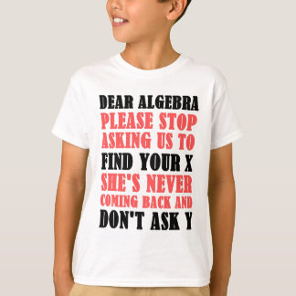 La estimada álgebra para por favor el pedir que de playera