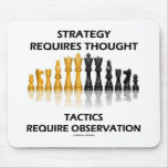 La estrategia requiere la observación de las tácti tapetes de ratones