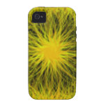 La estrella amarilla estalló el caso universal del iPhone 4/4S funda