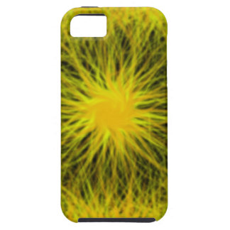 La estrella amarilla estalló el caso universal del funda para iPhone SE/5/5s