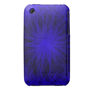 La estrella azul estalló el caso universal del funda bareyly there para iPhone 3 de Case-Mate