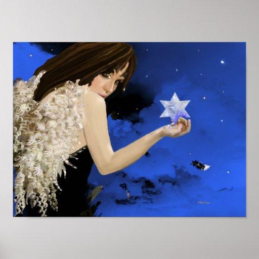 ¡La estrella azul! Impresiones