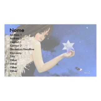 ¡La estrella azul! Tarjetas Personales