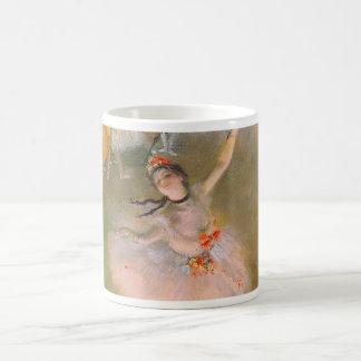 La estrella (bailarín en la etapa) por Edgar Degas Tazas