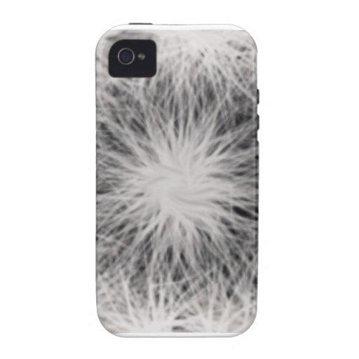 La estrella blanca estalló el caso universal del a iPhone 4 carcasa