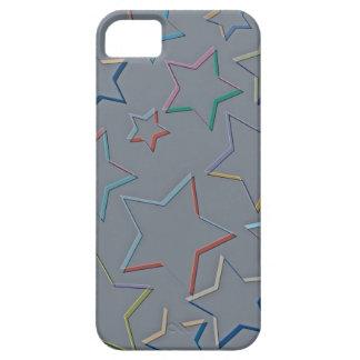 La estrella coloreada resume la identificación de iPhone 5 carcasa