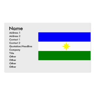La Estrella, Columbia Double-Sided Standard Business Cards (Pack Of 100)