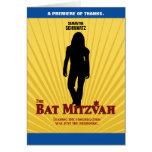 La estrella de cine de Mitzvah del palo le agradec Tarjetas