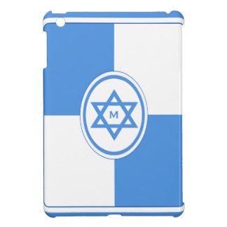 La estrella de David personalizó el monograma