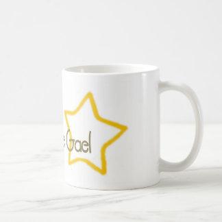 la estrella de gael taza básica blanca