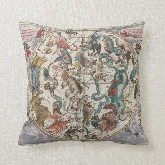 La estrella de la almohada de la astrología firma cojín decorativo