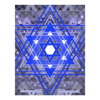 La estrella de las capas de David