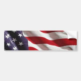 La estrella de los E.E.U.U. Spangled la bandera am Pegatina Para Auto