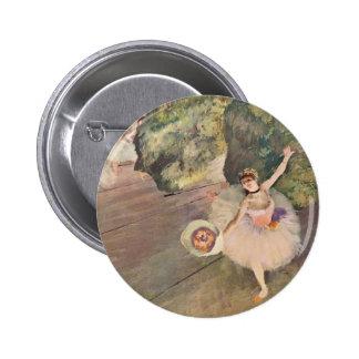 La estrella del ballet de Edgar Degas Pin Redondo 5 Cm