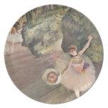 La estrella del ballet, desgasifica plato