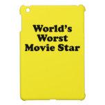 La estrella del cine peor del mundo iPad mini carcasa